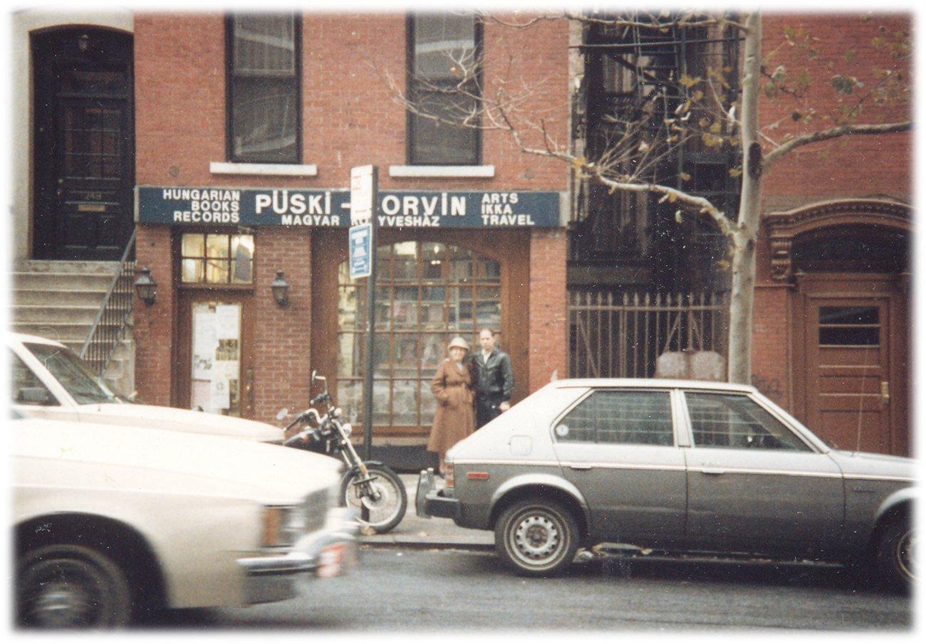 Püski Kiadó - A második New York-i bolt és galéria a 82. utca