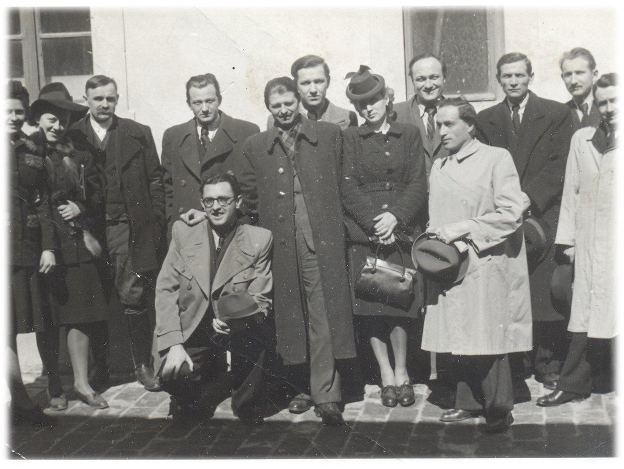 Irodalmi est Szabadkán, 1943.