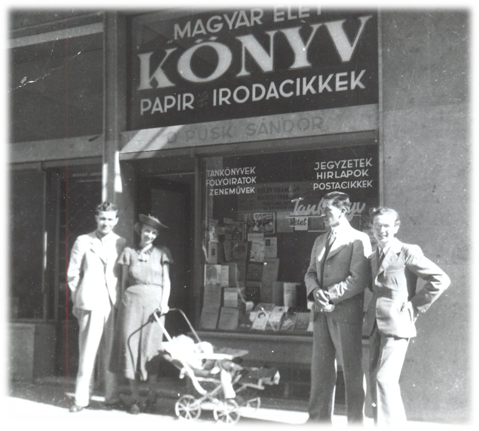 Püski Kiadó - Szerb utcai bolt