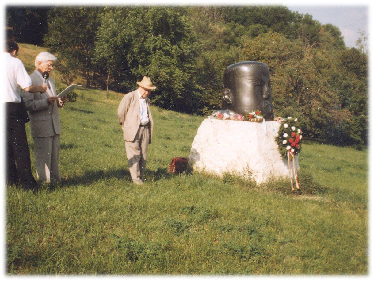 Püski Kiadó - Szabó Dezső  szoboravatás, 1990