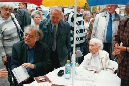 2002. Könyvhét Csoóri Sándor, Püski Sámdorné