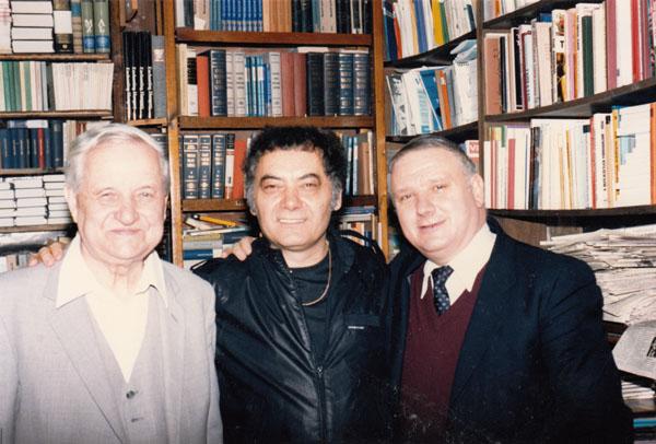 1987. Csoóri Sándor New Yorkban Püski Sándor, és Fodor András